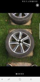 Honda jazz alloy wheels 16 inch genuine