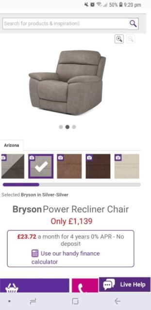 Surprising Bryson Power Recliner Chair With Usb Charging Port Rrp1 139 Brand New In Grantham Lincolnshire Gumtree Pabps2019 Chair Design Images Pabps2019Com
