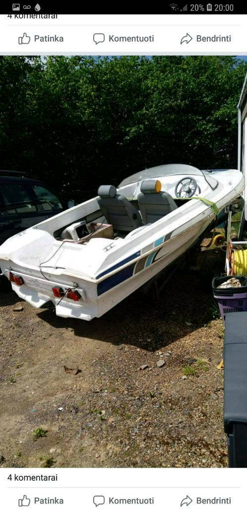 Speed boat for sale +trailer