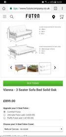 Futon Company sofa bed - excellent condition
