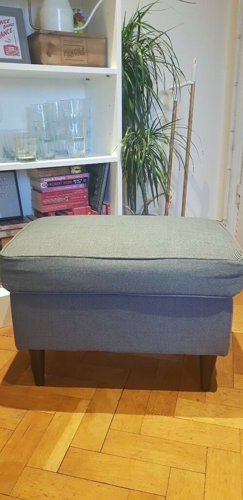 Groovy Ikea Strandmon Footstool Nordvalla Dark Grey In Wandsworth London Gumtree Theyellowbook Wood Chair Design Ideas Theyellowbookinfo