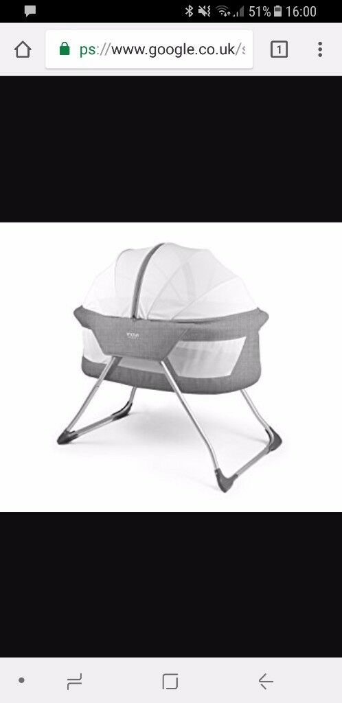 Inovi travel cot/bassinet