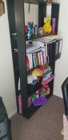Black book shelve