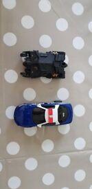 Scalextric Batmobile & Police car set