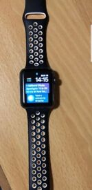 Apple Watch Series 3, Cellular & GPS. Perfect condition, comes with box & charger.
