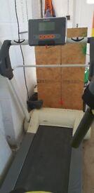 Multigym and Reebok treadmill