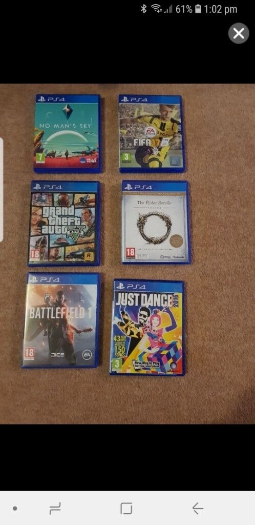 PS4 Games   in Arnold, Nottinghamshire   Gumtree