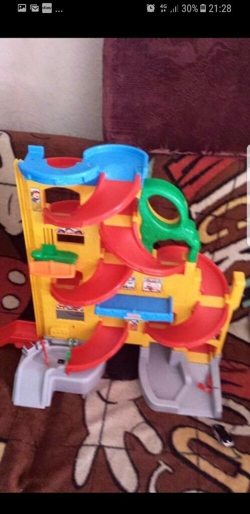 Fisher price garage toy musical