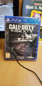 PS4 Call of Duty Ghosts (New and Sealed)