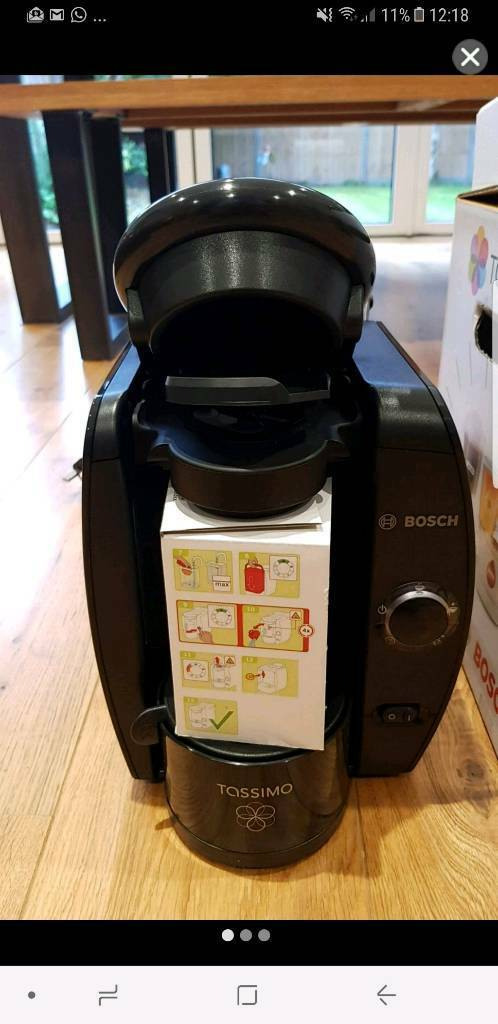 Bosch TAS400GB Tassimo Fidelia CoffeeMachine