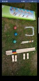 Adults croquet set
