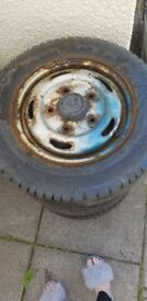 4 ford transit wheels & tyres