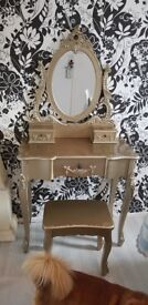 Dressing table set tolouse from dunelm