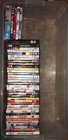 DVDS £5 each