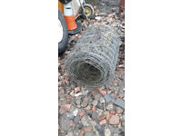large roll stock wire fencing pigs sheep livestock dogs heavy duty