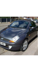 Ford Streetka pininfarina winter edition 1.6l.2006year.One owner.Low mileage.10mth mot
