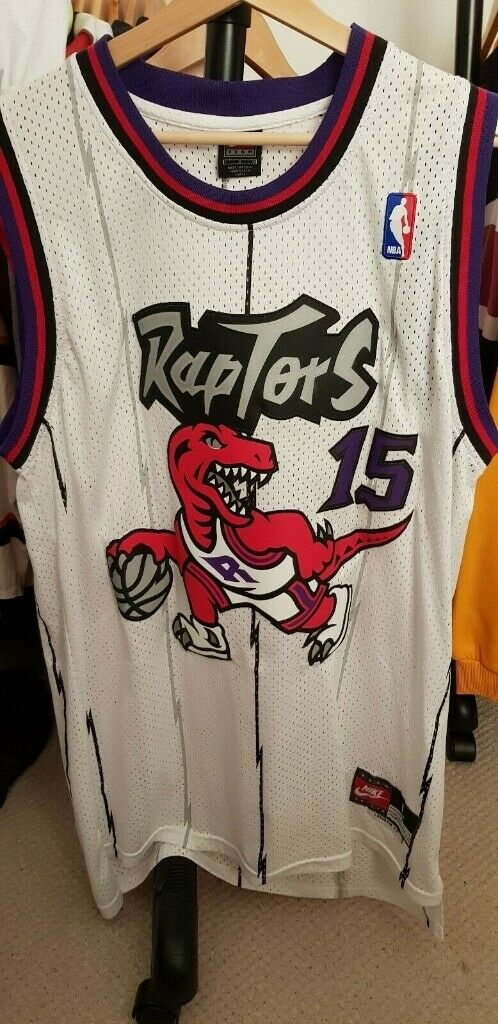 buy popular c4548 8cb59 NBA Basketball Toronto Raptors Vince Carter Jersey / Shirt - Size Large |  in Huddersfield, West Yorkshire | Gumtree