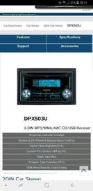 Kenwood double din media player