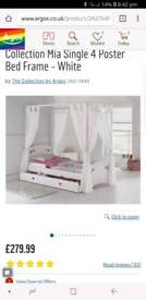 Four poster kids bed