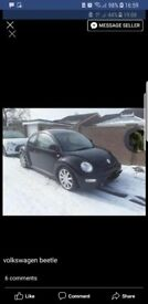 2l beetle .. 12 months mot .. leather interior elwc sunroof windows etc