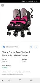 Disney OBaby double buggy