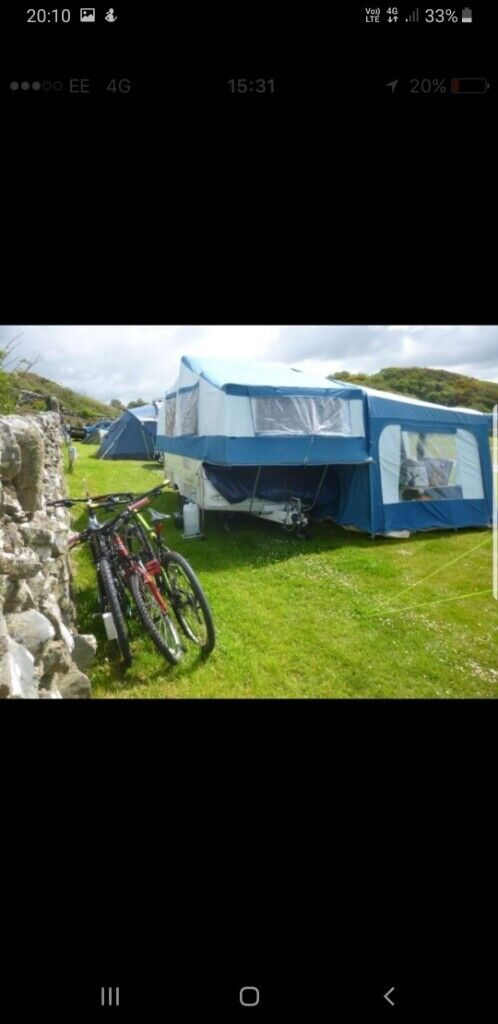 Pennine sterling folding camper with awning and all accessories | in  Morpeth, Northumberland | Gumtree