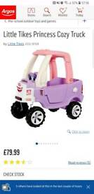 Princess truck car girls toy outdoor