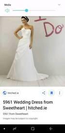 SWEETHEART♡ Satin Wedding Dress Size 12