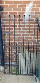 Black iron gate fully original working order £80