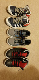 Various kids trainers
