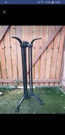 Cast iron tall table base