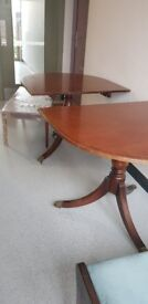 Mohagny dinning table, for free for a good home