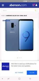 Samsung s9+ swap top iphone