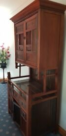 Antique chinese dresser brought back from Singapore