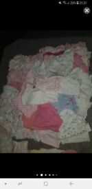 girls baby clothes bundle and other baby items..