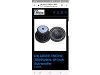 db audio t rex 3000 w 12 sub