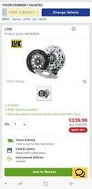 NEW 3pc clutch kit with bearing