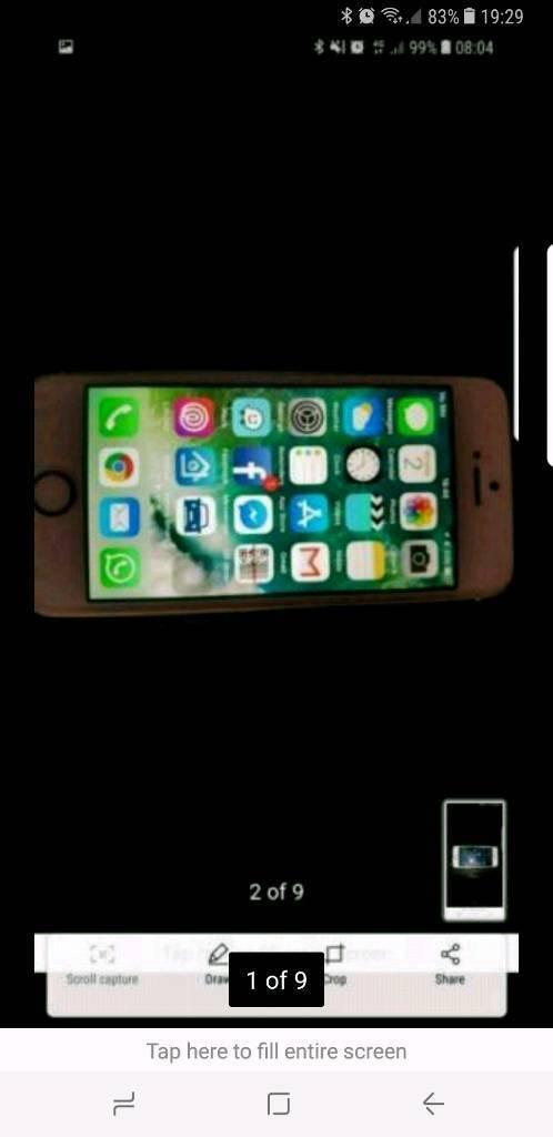 Iphone se 16gb gold on o2