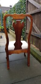 Vintage chair solid ideal for up cycle