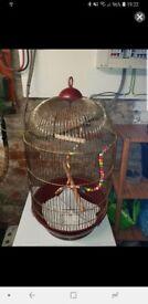 Brass Dome Birdcage