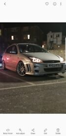 1.8 tddi ford focus with body kit and full leather interior FOR SALE OR SWAPZ