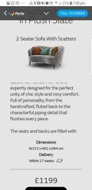 Sofology perle 3 seat + love seat + footstool