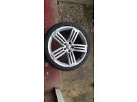 Volkswagen Scirocco R Line Alloy Wheels