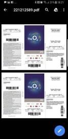 The killers tickets x2