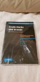 NEW - 'TRADE MARKS AND BRANDS - AN INTERDISCIPLINARY CRITIQUE' BY LIONEL BENTLY ET AL