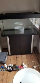 160L tank with stand