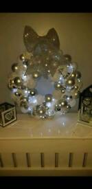 Beautiful hand made baubal wreaths
