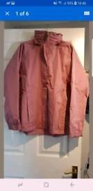 Rain jacket size 14-16 UK women