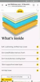 New eve single memory foam mattress