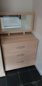Double wardrobes & chest